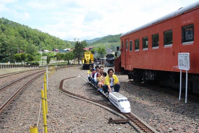⑨ミニ新幹線