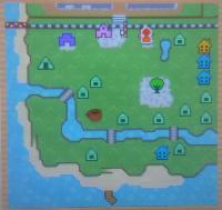 しずく村地図