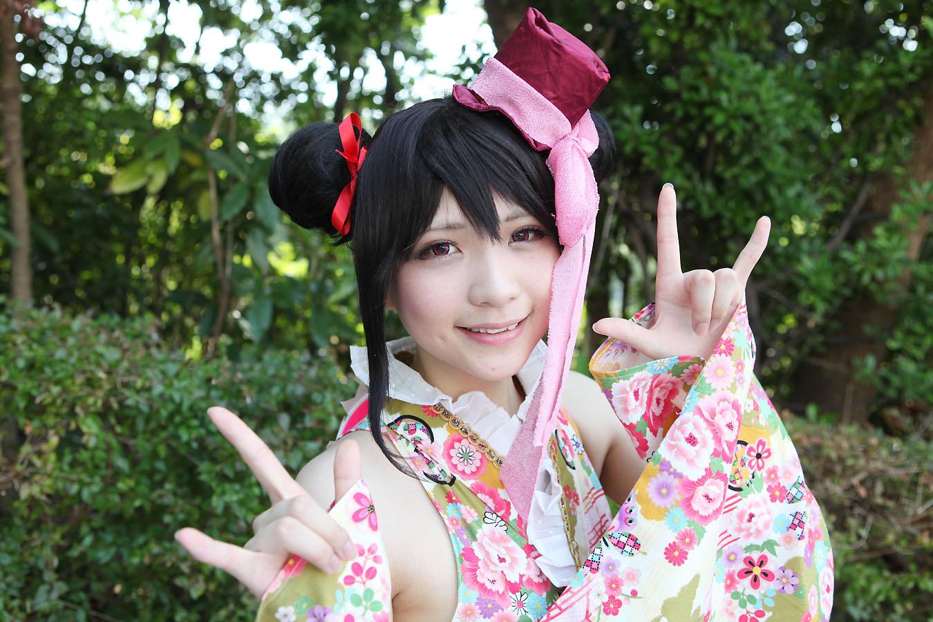 【唄汰音おれぱさん】ラブライブ 矢澤にこ(スクールフェスティバル SR浴衣)