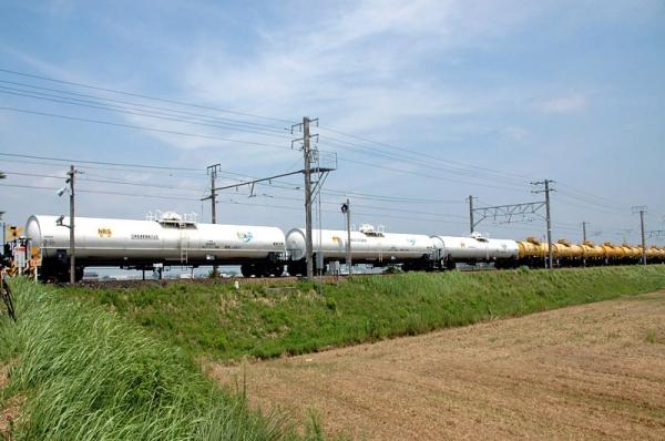 タキ18600+タキ5450廃車回送(9863レ)