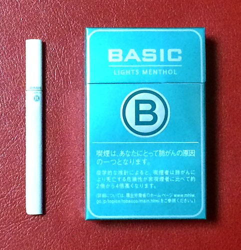 BASIC_LIGHTS_MENTHOL BASIC ベーシック・ライトメンソール ベーシック 格安タバコ