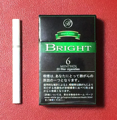ブライト・6・メンソール ブライト BRIGHT_6_MENTHOL BRIGHT_6_MENTHOL JT 低価格タバコ ウルグアイ