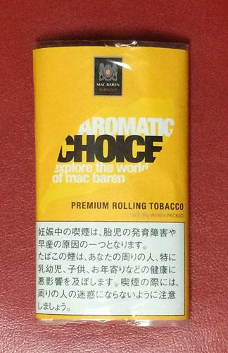 CHOICE_AROMATIC チョイス・アロマティック CHOICE チョイス フレーバーシャグ 手巻きタバコ RYO シャグ MACBAREN