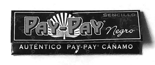 手巻きタバコ 巻紙 ペーパー PAY-PAY_Negro, PAY-PAY Flandria, ペイペイ・ネグロ ヘンプペーパー RYO