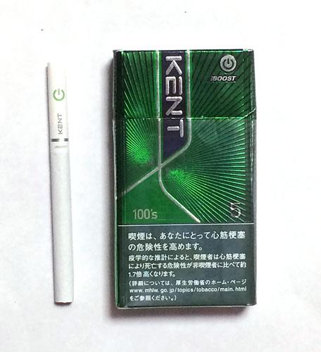 KENT_iBOOST_5_100's KENT ケント・アイブースト5・100's ケント ブリティッシュアメリカンタバコ メンソール ブースト