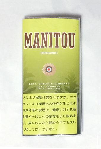 MANITOU_ORGANIC, MANITOU, マニトウ・オーガニック, マニトウ 手巻きタバコ シャグ RYO