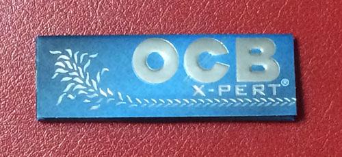 OCB_X-PERT_BLUE OCB_エクスパートブルー OCB オーシービー スローバーニング 薄紙 極薄 柘製作所 RYO