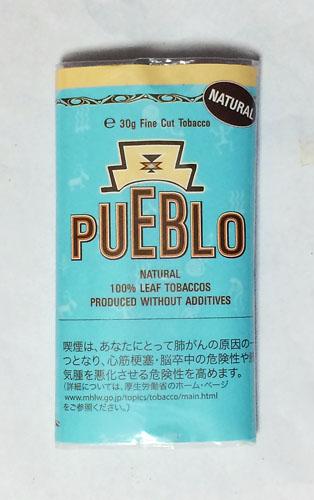 PUEBLO_NATURAL_BLUE PUEBLO プエブロ・ナチュラルシャグ・ブルー プエブロ 無添加 RYO HAND_ROLLING_TOBACCO
