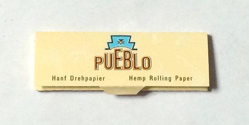 PUEBLO_NATURAL_BLUE PUEBLO プエブロ・ナチュラルシャグ・ブルー プエブロ 無添加 巻紙 ヘンプペーパー 麻 RYO HAND_ROLLING_TOBACCO