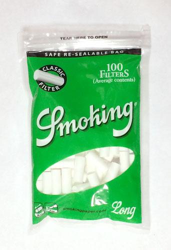 Smoking_FILTER_CLASSIC_Long, Smoking, スモーキング・フィルター・クラシック・ロング スモーキング 手巻きタバコ フィルター RYO