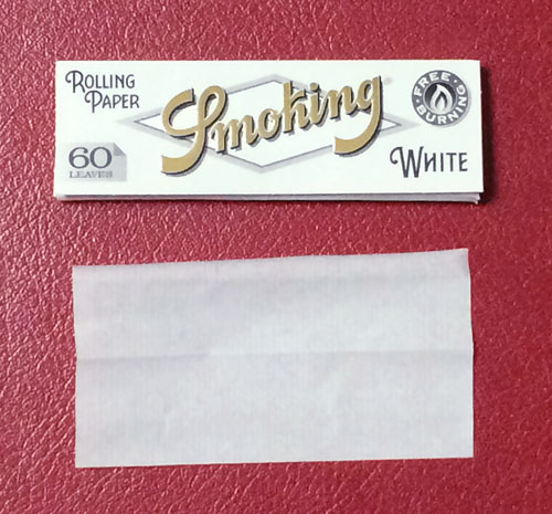GROGGY グロッギー Smoking_WHITE スモーキング・ホワイト スモーキング 手巻きタバコ 巻紙 ペーパー RYO