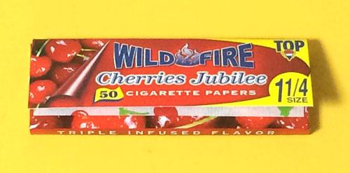 WILDFIRE_Cherry_Jubilie, WILDFIRE ワイルドファイヤー・チェリージュビリー ワイルドファイヤー 手巻きタバコ 巻紙 ペーパー RYO フレーバーペーパー