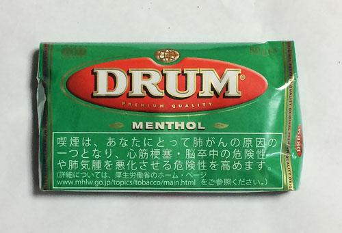 DRUM_MENTHOL, DRUM, ドラム・メンソール, ドラム, オランダ, シャグ RYO 手巻きタバコ