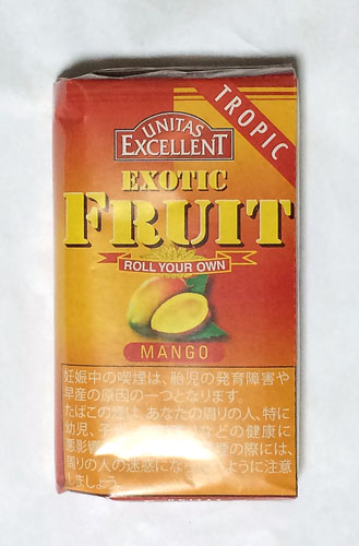 EXCELLENT_EXOTIC_FRUIT_MANGO, EXCELLENT, エクセレント・マンゴー エクセレント 手巻きタバコ シャグ RYO, ROLLING_TOBACCO, SHAG
