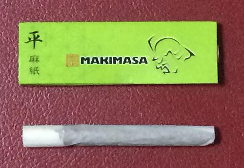 マキマサ 巻正 MAKIMASA 平 TAIRA タイラ 手巻きタバコ ヘンプペーパー 巻紙 麻紙 スローバーニング 薄紙 RYO