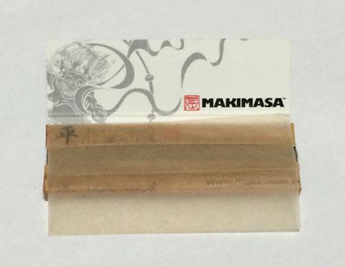 マキマサ 巻正 MAKIMASA 平 TAIRA 手巻きタバコ ペーパー 巻紙 ヘンプ 麻紙 無漂白 スローバーニング 薄紙