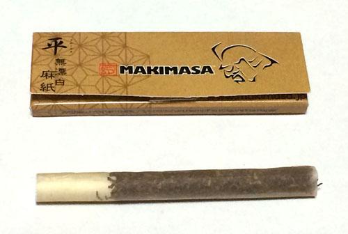 マキマサ 巻正 MAKIMASA 平 TAIRA 手巻きタバコ ペーパー 巻紙 ヘンプ 麻紙 無漂白 スローバーニング 薄紙 RYO