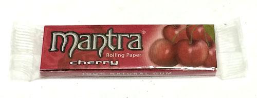 巻紙 ペーパー mantra_cherry mantra マントラ・チェリー マントラ Smoking フレーバーペーパー スローバーニング 手巻きタバコ RYO