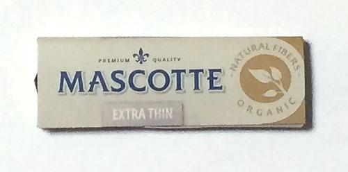 MASCOTTE_PURE_ORGANIC_HEMP マスコット・ピュアオーガニック・ヘンプペーパー 手巻きタバコ 巻紙 ペーパー 無漂白 無農薬 RYO