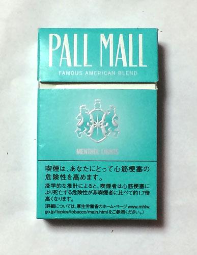 PALL_MALL_MENTHOL_LIGHT, PALL_MALL, ポールモール・メンソールライト, ポールモール, 紙巻きタバコ, JT
