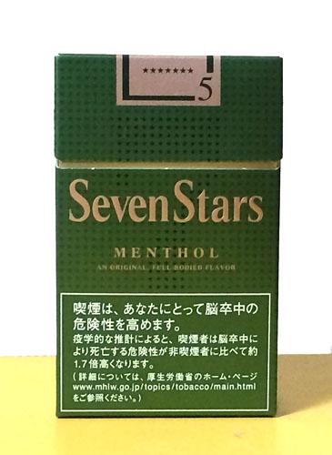 Seven_Stars_MENTHOL Seven_Stars セブンスター・メンソール セブンスター タバコ JT