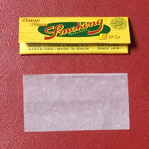 Smoking_Hemp_Paper_ECO Smoking スモーキング・ヘンプペーパー・エコ スモーキング スローバーニング 薄紙 ペーパー 巻紙 RYO 手巻きタバコ