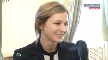 Natalia Poklonskaya finds out she_s popular in internet Wit