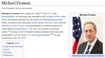 wikiMichael Froman