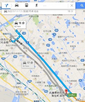 map兵庫県明石市魚住町清水