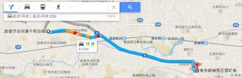 map東京都練馬区関町南車で十数分
