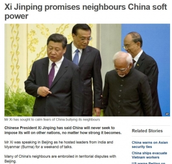 newsXi Jinping promises neighbours China soft power