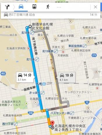 map北海道札幌市中央区南2条西3丁目6
