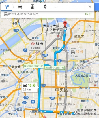 map大阪府大阪市北区長柄東車で十数分