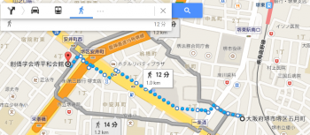 map大阪府堺市堺区五月町