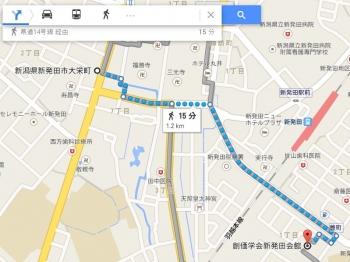 map新潟県新発田市大栄町