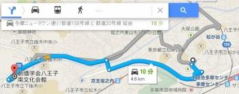 map東京都八王子市松が谷車で十数分
