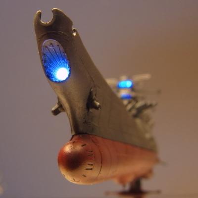 メカコレクション・宇宙戦艦ヤマトを製作、電飾しました