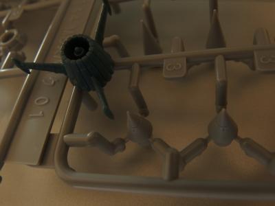 ビルダーズパーツ MSスパイクとヤマトのエンジン