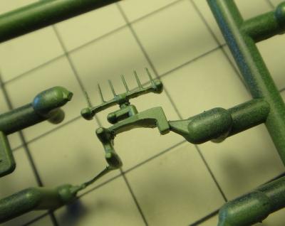 バルグレイの艦橋レーダー