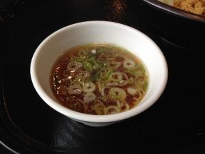 きかん俸 まぜ麺スープ