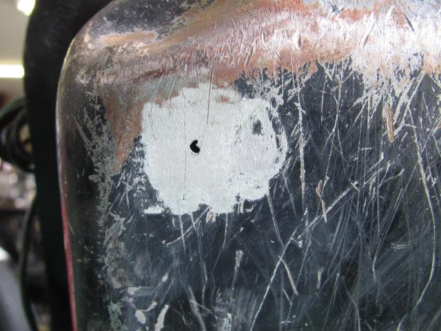 ジェットヒータータンク穴修理 006