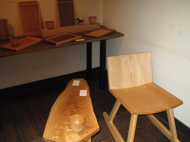 木の家具個展2014 001