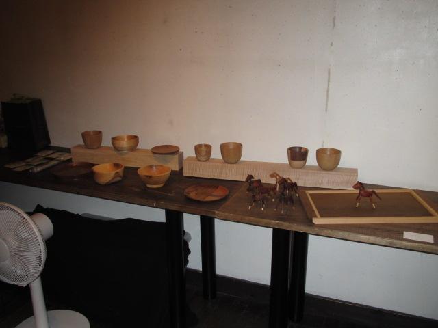 木の家具個展2014 002