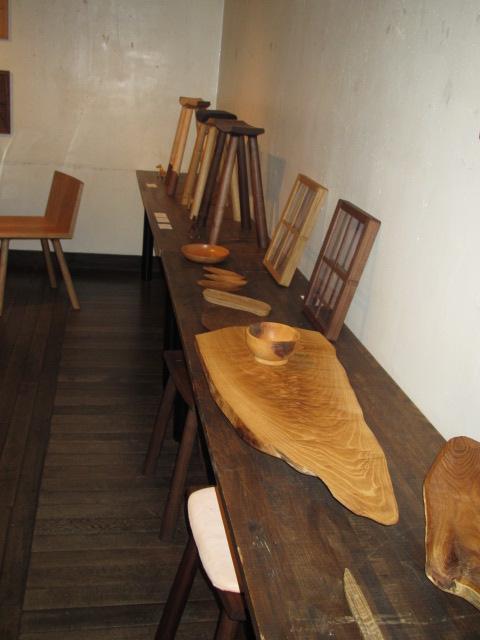 木の家具個展2014 005