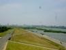 向こうは赤川鉄橋