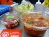 定番商品と水キムチ