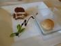 デザートはティラミスとキャラメルアイス
