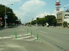 この辺りで大牟田市内線が分岐した