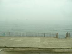 大阪湾が見える