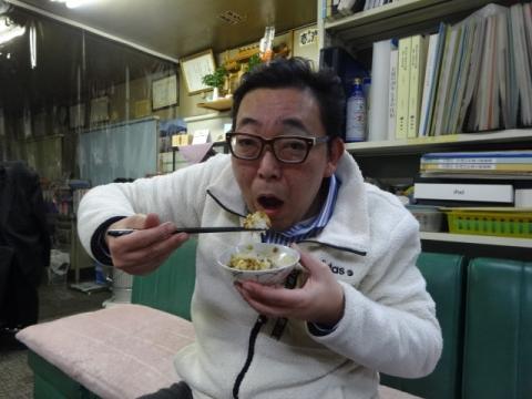 納豆④ 食べました。